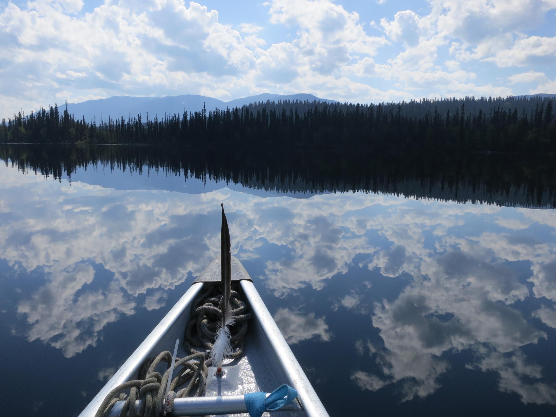 Bowron Lakes Spitze